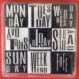 magneten dagen van de week
