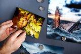 foto's op magneetverf