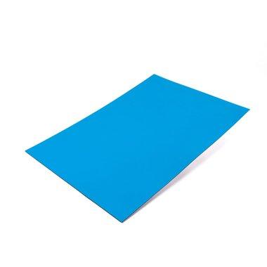Gekleurde magneetfolie Blauw A4 formaat