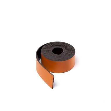 Gekleurde magneetband Oranje 15 x 1000 mm