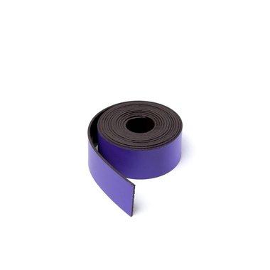 Gekleurde magneetband Lila 15 x 1000 mm