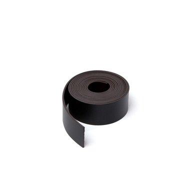 Gekleurde magneetband Zwart 15 x 1000 mm