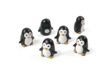 Leuke Pinguin magneetjes Pingu - set van 6 magneten