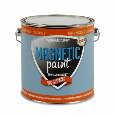 Magnetic Paint 2,5 ltr EXTRA STERKE professionele magneetverf