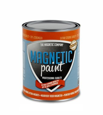 Magnetic Paint 1,0 ltr EXTRA STERKE professionele magneetverf