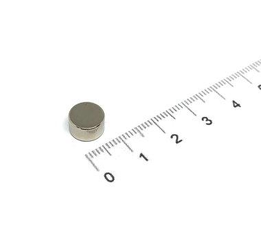 9x5 mm vernikkeld N35