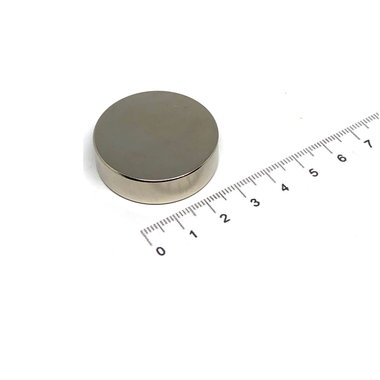 35x10 mm vernikkeld N35
