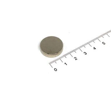 20x5 mm vernikkeld N35