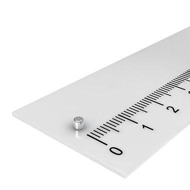 2x2 mm vernikkeld N48