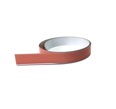 Staalband zelfklevend 12,5 mm breed x 0,1 mm - lengte 1,0 mtr