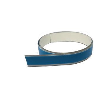 Staalband zelfklevend foam 25,0 mm breed x 0,1 mm - lengte 1,0 mtr
