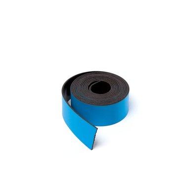 Gekleurde magneetband Blauw 15 x 1000 mm