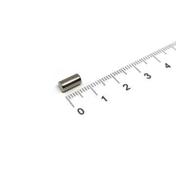 4x8 mm vernikkeld N35