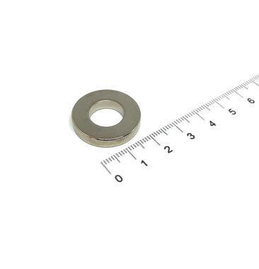 24x4 met boring van 12 mm vernikkeld N35