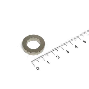 20x4 met boring van 12 mm vernikkeld N35