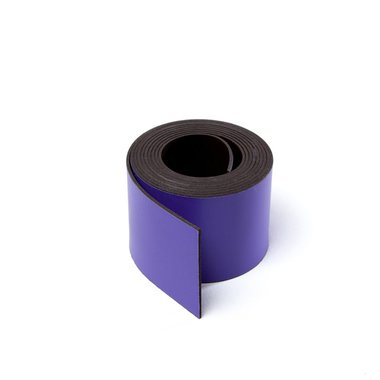Gekleurde magneetband Lila 30 x 1000 mm