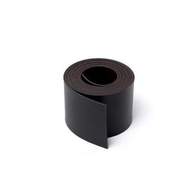 Gekleurde magneetband Zwart 30 x 1000 mm