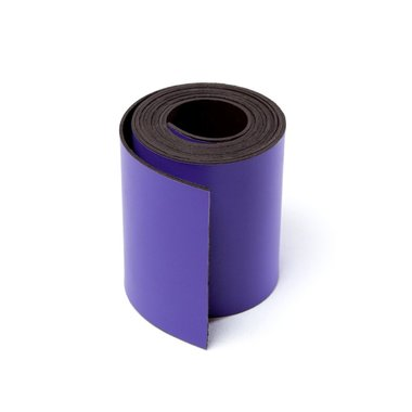 Gekleurde magneetband Paars 50 x 1000 mm