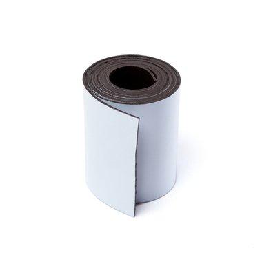 Gekleurde magneetband Wit 50 x 1000 mm