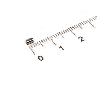 2 x 3 mm vernikkeld N45