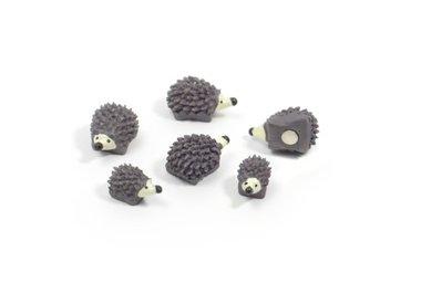 Egel magneten Hedgehog - set van 6 sterke magneten