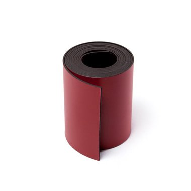 Gekleurde magneetband Rood 50 x 1000 mm