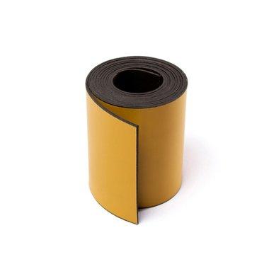 Gekleurde magneetband Geel 50 x 1000 mm