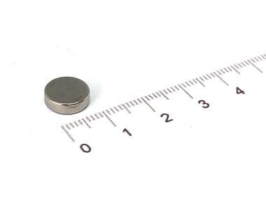 10x3 mm vernikkeld N42