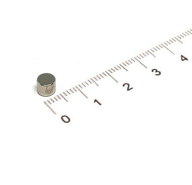 5x4 mm vernikkeld N35