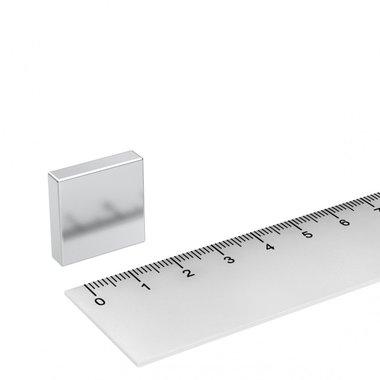 20x20x5 mm vernikkeld N45