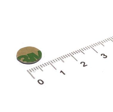 10x0,6 mm vernikkeld N35 Zelfklevend 3M