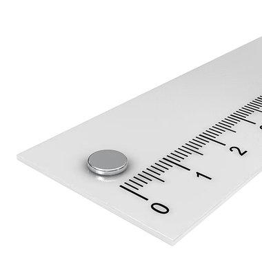 6x1 mm vernikkeld N52