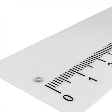 1,5x0,5 mm vernikkeld N45