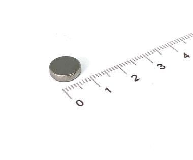 10x2,5 mm vernikkeld N35