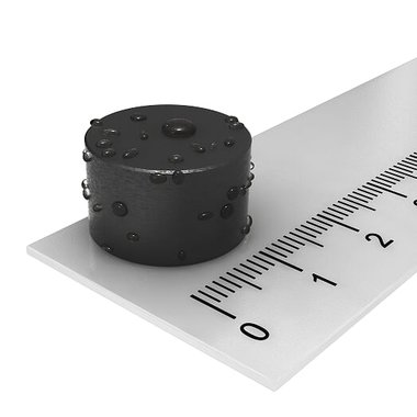 16,8 x 9,4 mm Rubber coating waterdicht N42
