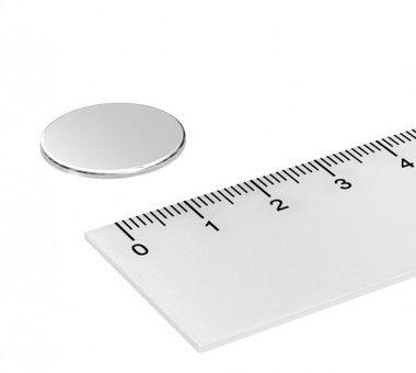 20x1 mm vernikkeld N35