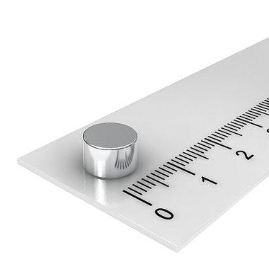 8x5 mm vernikkeld N45