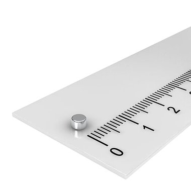 3x2 mm vernikkeld N48