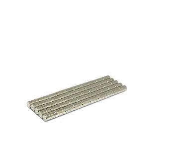 Voordeelset 50 stuks neodymium staafmagneten 5 x 9 mm N45