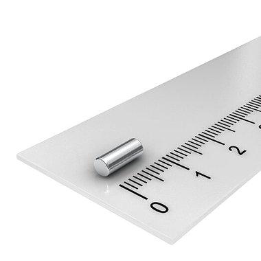 3x8 mm vernikkeld N48