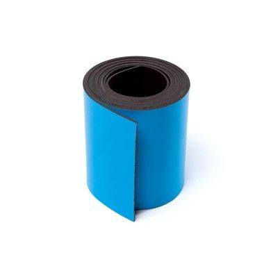 Gekleurde magneetband Blauw 50 x 1000 mm