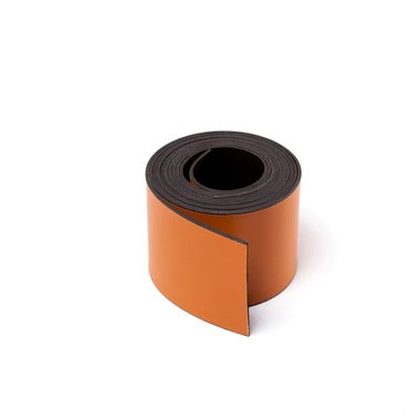 Gekleurde magneetband Oranje 30 x 1000 mm