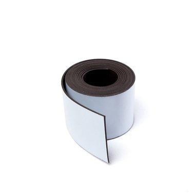Gekleurde magneetband Wit 30 x 1000 mm