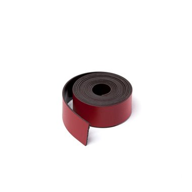 Gekleurde magneetband Rood 15 x 1000 mm