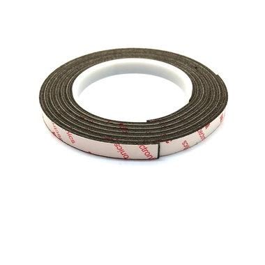 Neodymium magneetband 10 x 1000 mm sterke 3M klever - 450 g/cm²