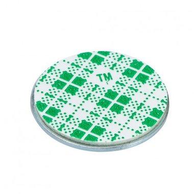 Metalen schijf 60 mm zelfklevend met extra sterke foam klever