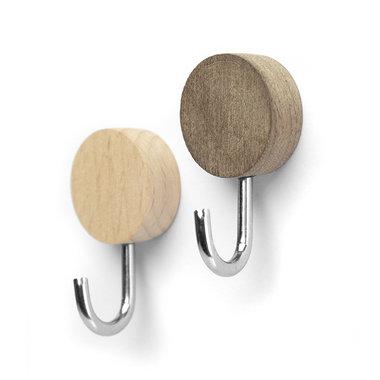 Wood Hook magneten - set van 2 stuks