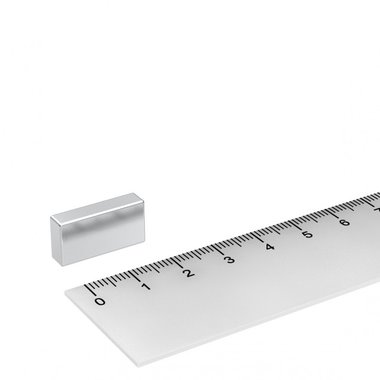20x10x5 mm vernikkeld N45