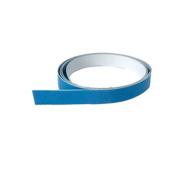 Staalband zelfklevend foam 12,5 mm breed x 0,1 mm - lengte 1,0 mtr