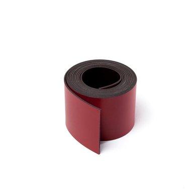 Gekleurde magneetband Rood 30 x 1000 mm